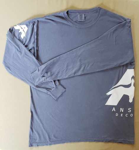 Anser Long-Sleeve Tee - Blue